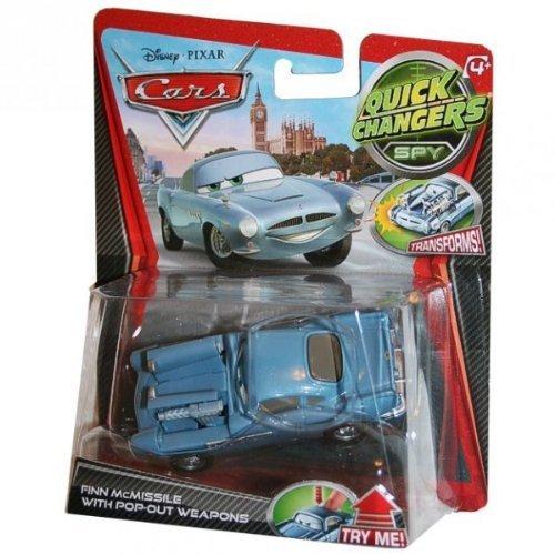 Cars-X2209-Fahrzeug Miniatur-Quick Change-Finn McMissile Waffe