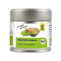 Premium Bio Matcha-Grüntee Pulver (30g) - aus Japan, reines Matcha-Pulver ohne Zusätze, fein gemahlen, fein-herber Geschmack