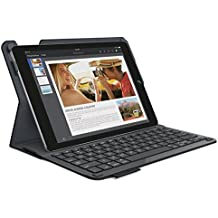 Logitech Type+ - Funda con teclado integrado para tablet Apple iPad Air 2, negro - Teclado QWERTY español
