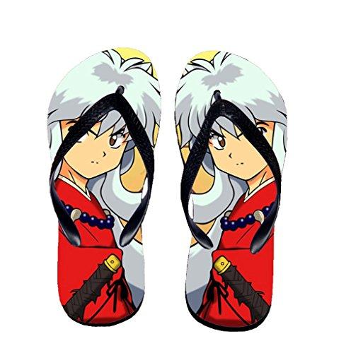 Bromeo Inuyasha Anime Unisexe Flip Flops Tongs 596