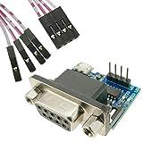 BeMatik - Elektronischer Konverter RS232 zu TTL mit USB. Modul SP3232 DW-0737