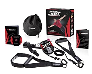 Crosscore Unisex 180 Rotational Bodyweight Trainer, Black