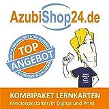 AzubiShop24.de Kombi-Paket Lernkarten Mediengestalter/-in Digital und Print: Erfolgreiche Prüfungsvorbereitung auf die Abschlussprüfung - Michaela Rung-Kraus, Paul Sitter