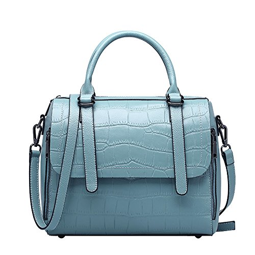 GUANGMING77 _ Mobile Messenger Bag Borsa A Tracolla Per Donne,Viola Wathet
