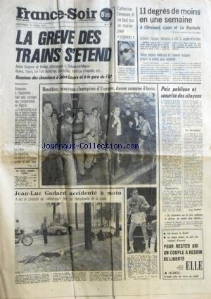 FRANCE SOIR 8 EME EDITION du 11/06/1971