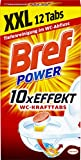 Bref Power WC-Kraft Tabs, WC Reiniger, 12 Tabs