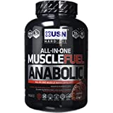 USN Muscle Fuel Anabolic Lean Muscle Gain Shake Powder - Chocolate, 2 kg