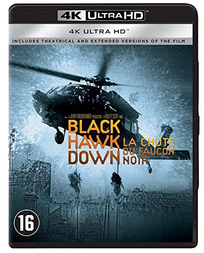 La Chute du Faucon Noir : Black Hawk Down - Edition 4K Ultra HD [Blu Ray] [Blu-ray]
