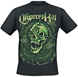 Photo de Cypress Hill Fang Skull T-Shirt Manches Courtes Noir par Cypress Hill