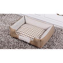 DAN Cama Lavable Premium para Perros y Gatos Un Perrito y Gatito ortopédico para Mascotas Sofá