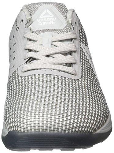 Reebok R Crossfit Nano 7.0, Sneaker Basses Homme Gris (Grigio Skull Grey/white/black/asteroid Dust)