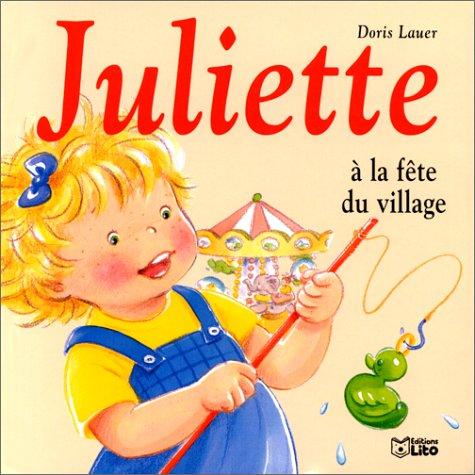 Juliette à la fête du village