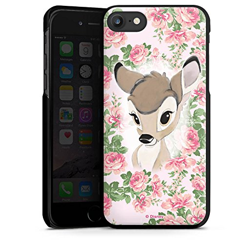 Apple iPhone 6 Silikon Hülle Case Schutzhülle Disney Bambi Fanartikel Merchandise Hard Case schwarz