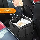 Kriogor Kriogor Auto Mülleimer, IP68 Wasserdicht Faltbar Abfalltasche Auto Tasche mit Deckel