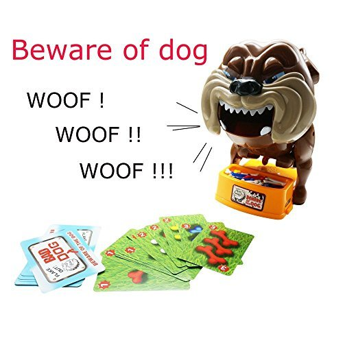 Tonor-Flake-Out-Bad-Dog-Bones-Cards-Tricky-Toy-Games-for-Parent-child
