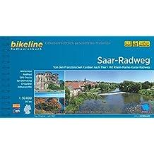 Bikeline Saar-Radweg: Von den Französischen Kanälen nach Trier. Radtourenbuch,191 km, 1 : 50 000, wetterfest/reißfest, GPS-Tracks-Download