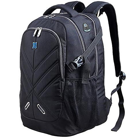 43,9cm antichoc sac à dos pour ordinateur portable avec housse