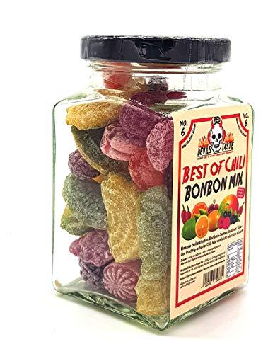 Chili im Glas Chili Mix von mild bis scharf - alles dabei 150g TOP