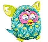 HASBRO Furby Boom - Paon (azul/amarillo) [habla Italiano, no compatible con app española]