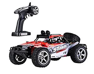 rc voiture v hicule t l command e electrique camion buggy 4 wd 1 12 tout terrain 2 4 ghz. Black Bedroom Furniture Sets. Home Design Ideas