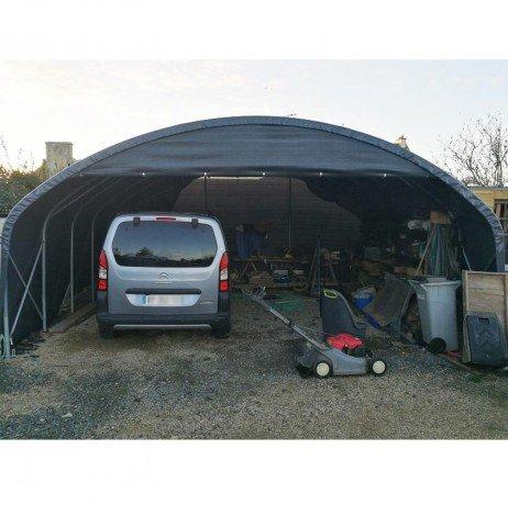 Atout Loisir Bâche Camion 640 microns - Gris Anthracite BCGA640_400 - Longueur : 18 m