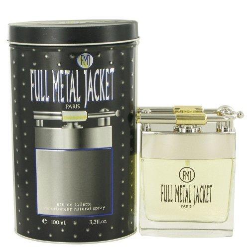 Sentimental Metal Jacket 100 ml Eau de Toilette Spray for Men by FMJ (Herren Eau de Toilette)