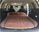 BMDHA Matelas De Voiture Gonflable Coffre De Lit Double Grand Confortable Double-Face Disponible Utilisation De SUV (Gratuit De Pompe À Air Électrique, Etc.Accessories)Gris