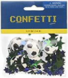 amscan International Confettis Football/Soccer