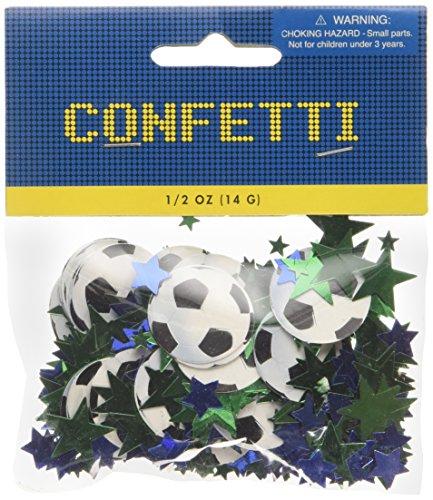 Amscan International Konfetti Fußball