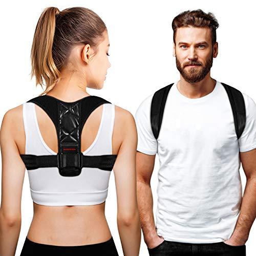 kungfuren Haltungstrainer, Geradehalter zur Haltungskorrektur Damen Herren Haltungskorrektur Rückenbandage Rückenstütze