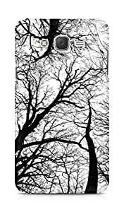 AMEZ designer printed 3d premium high quality back case cover for Samsung Galaxy J7 (trees black white)