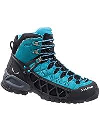 SalewaWS ALP FLOW MID GTX - zapatillas de trekking y senderismo de media caña mujer
