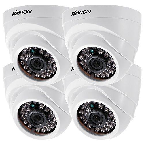 KKmoon 4 * 1080P 2000TVL AHD Domo IR CCTV Cámara