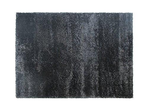 Alfombrista Venecia Alfombra, Acrílico, Negro, 70 x 140 cm