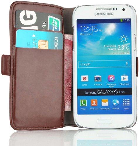 Cover Galaxy S4 Mini, JAMMYLIZARD [Luxury Wallet]...