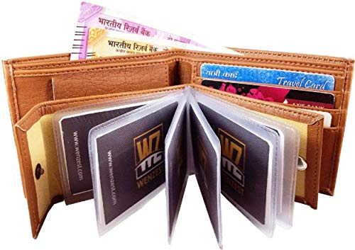 blissburry Leather Men's Wallet (3in1_Brown)