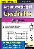 Kreuzworträtsel Geschichte Altertum - Hans-Peter Pauly