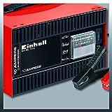 Einhell Batterie-Ladegerät CC-BC 10 E (für Batterien von 5 bis 200 Ah, 12 V Ladespannung, eingebautes Amperemeter, Ladeelektronik, Tragegriff) Test