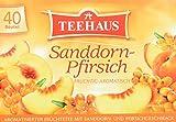 Teehaus Sanddorn-Pfirsich, 6er Pack (6 x 90 g)