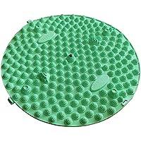 Runde Fußmassager-Therapie-Matten-Fuß-Massage-Auflage Shiatsu-Blatt [Hellgrün] preisvergleich bei billige-tabletten.eu