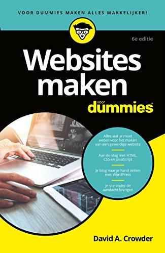 Websites maken voor Dummies (Dutch Edition) eBook: David A. Crowder: Amazon.es: Tienda Kindle