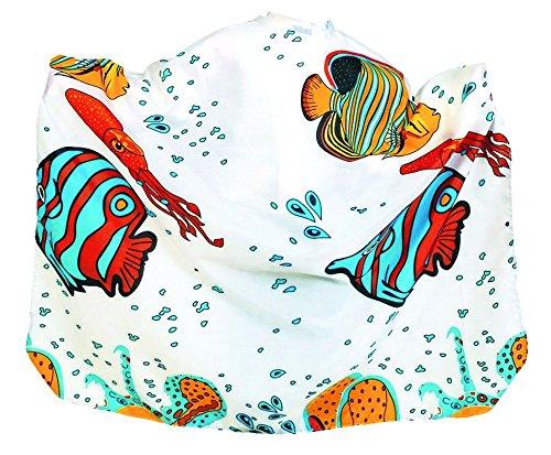 Beauty-Tex Aquarium Cape pour enfant Fermeture à crochet
