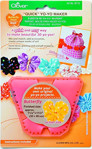 Clover Quick Yo-Yo Maker-Schmetterling klein -