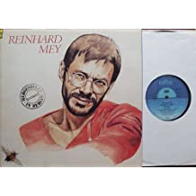 """HERGESTELLT IN BERLIN / REINHARD MEY / Klapp-Bildhülle 1985 mit ORIGINAL Text-Beilage und ORIGINAL illustrierter Werbe-Innenhülle / Intercord # INT 160.198 / 12"""" Vinyl Langspiel-Schallplatte"""