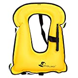 OMOUBOI Snorkel Vest Swim Swimming Float Vest Inflatable - Best Reviews Guide
