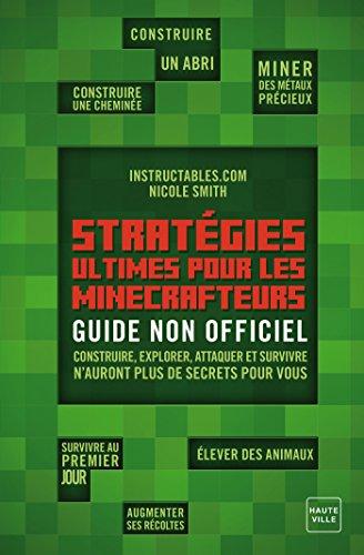 En ligne téléchargement gratuit Stratégies Ultimes pour les minecrafteurs pdf ebook
