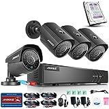 ANNKE Max 10-Channel 1080P Lite H.264  HD-TVI DVR w/ 4x 1.30 Megapixels 960P Weatherproof Metal Bullet Camera 1TB Professional Surveillance HDD