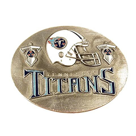NFL Football Buckle Tennessee Titans, Official Licensed - Gürtelschnalle