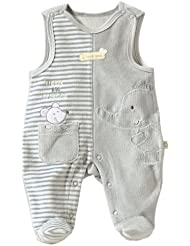 BORNINO Nicki-Strampler Baby Strampelanzug