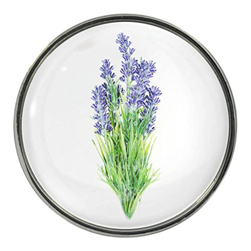 lavender-flower-image-design-metal-fridge-magnet
